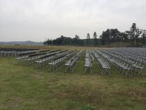 来年は椅子席を増やす可能性もあるとの事。